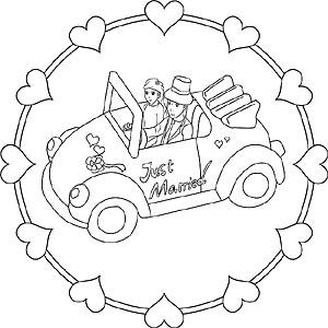 Auto Mandalas Kostenlose Ausmalbilder Für Kinder