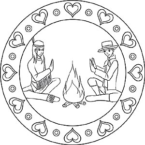 cherokee mandala coloring pages - photo#39