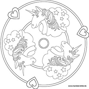 Malvorlagen Einhorn Mandala My Blog