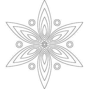 entspannung mandalas - kostenlose vorlagen zum ausdrucken