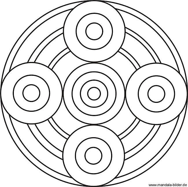 Gratis Mandala Als Konzentrationsübungen Und Entspannung