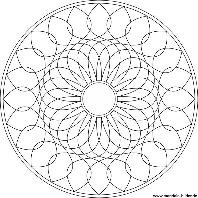 Anspruchsvolle Mandalas Zum Ausdrucken