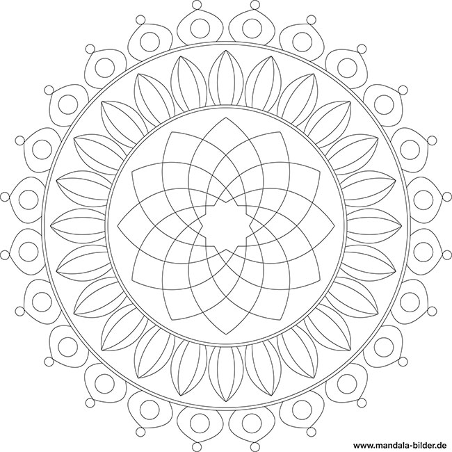 mandalas f r fortgeschrittene zum ausmalen. Black Bedroom Furniture Sets. Home Design Ideas