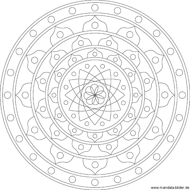 Mandalas in der Meditation