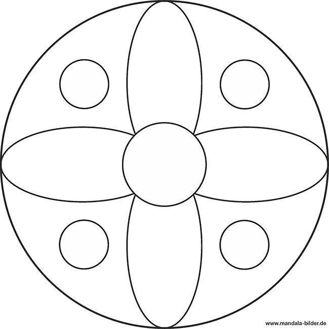 Tolle Einfache Mandala Malvorlagen Für Kinder Galerie - Beispiel ...