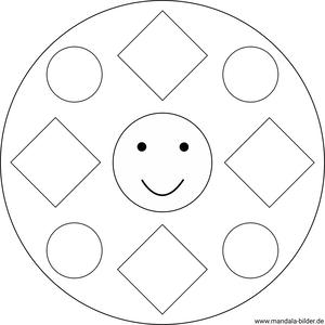 kindergarten mandalas für kindergartenkinder zum ausdrucken