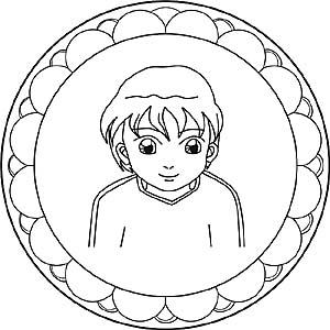 Gratis mandalas zum thema menschen und gesichter - Menschen malen lernen kindergarten ...