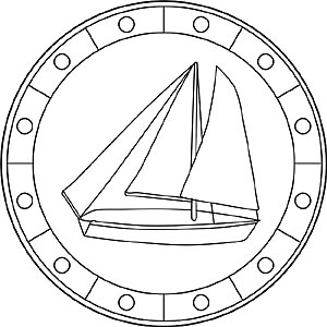 Mandalas Mit Schiffen Und Booten Kostenlose Malvorlagen
