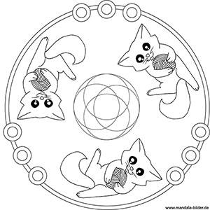 tier mandalas - ausmalbilder mit tieren zum ausmalen für kinder