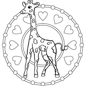 mandala giraffe zum ausdrucken - best image giraffe in the word