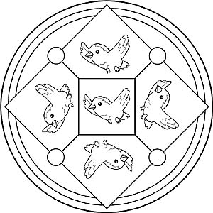 Mandala Malvorlagen Vögel | My blog