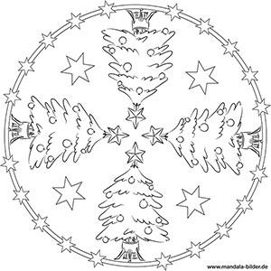 ausmalbilder mandalas weihnachten kostenlos | kinder ausmalbilder