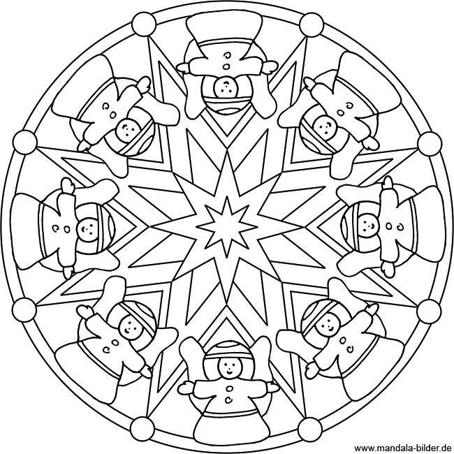 Malvorlagen Mandala Weihnachten My Blog