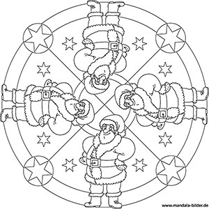 Christliche Weihnachtsbilder Zum Ausdrucken.Mandalas Für Kinder Zu Weihnachten Weihnachtsmandala Zum Ausmalen