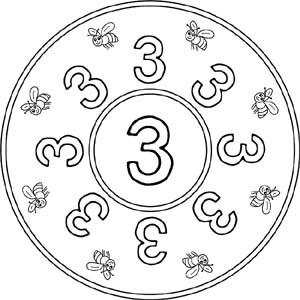 Zahlenmandalas Mandalas Mit Den Zahlen 1 Bis 9